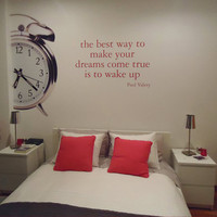 Modern , Urban and Contemporary - Dreams come true - Wall Decals , Home Art and Car Stickers