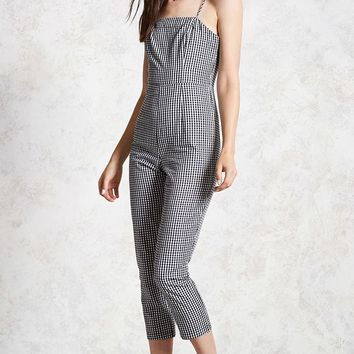 Gingham Cami Jumpsuit