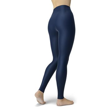 Simply Southern Camper Leggings Navy