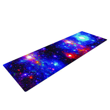 Northern Lights Galaxy Yoga Mat