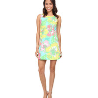 Lilly Pulitzer Delia Shift Dress Shorely Blue Big Flirt - 6pm.com