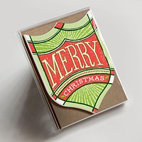Merry Christmas Badge Boxed Set