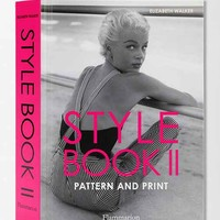 Style Book II: Pattern and Print By Elizabeth Walker  - Assorted One