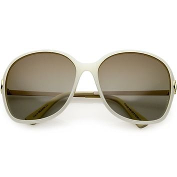 Women's Oversize Round Polarized Sunglasses C829