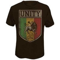 Rasta - Unity Mens T-Shirt In Heather Brown