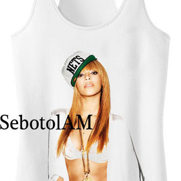 beyonce ScreenPrint, funny shirt for Tank Top men and tank top Girl