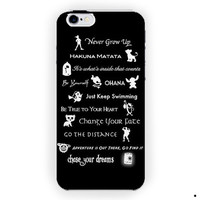 Disney Lessons Learned Mash-Up For iPhone 6 / 6 Plus Case