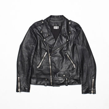Classic Cropped Leather Jacket | Shop Men | R H U D E