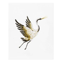 Crane Art Print by RIFLE PAPER Co. | Made in USA
