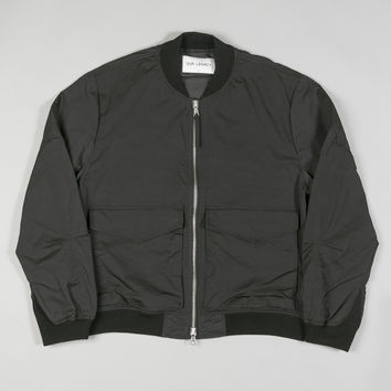 Our Legacy Patch Pocket Bomber Black Wave