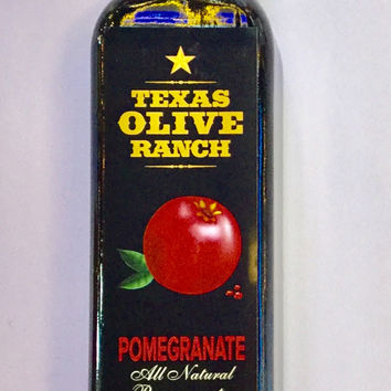 Texas Olive Ranch- Pomegranate Baslamic Vinegar