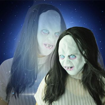Scary Sadako Halloween Ghost Mask