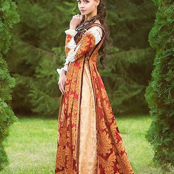FREE SHIPPING Italian Renaissance Costume made to order