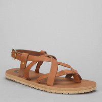 Leather Strappy Sandal
