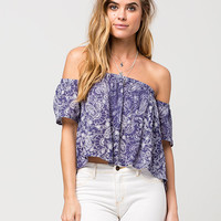 BILLABONG Best Way Womens Top | Blouses