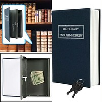 Dictionary Diversion Book Safe w- Key Lock - Metal