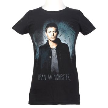 Hot Topic Women's Supernatural Dean Winchester T-Shirt