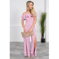 Lilac Rose Boss Jumpsuit
