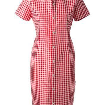 Ralph Lauren Vintage Gingham Shirt Dress