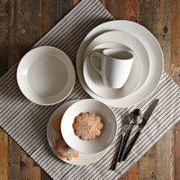 Scape Dinnerware Set - Stone White