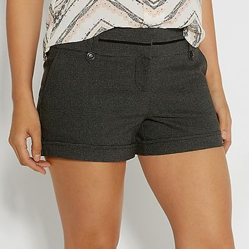 the smart shorts in herringbone print | maurices