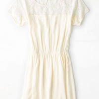 AEO Women's Lacy Cinched Dress