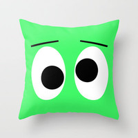 I is Drunk Throw Pillow by Alice Gosling