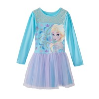 Disney's Frozen Elsa Tulle Dress - Girls