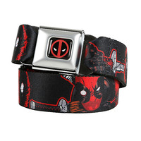 Marvel Deadpool Paint Seat Belt Belt