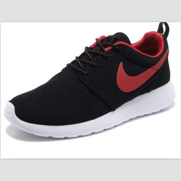 NIKE fashion network sports shoes casual shoes Black rose red