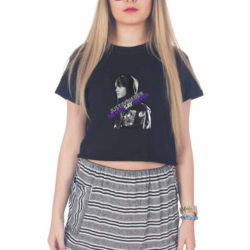 Justin Bieber Never Say Never For Womens Crop Shirt ***