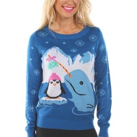 Women's Dreamy Narwhal Sweater