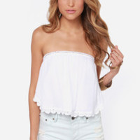 O'Neill Honey Ivory Crop Top