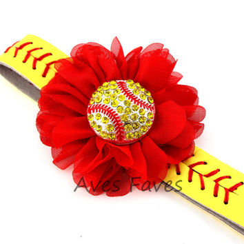DIY Softball Headband Kit, Softball Stitching Headband, Sports Headband Kit