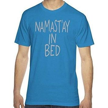 Men's Namast'ay in Bed T-shirt