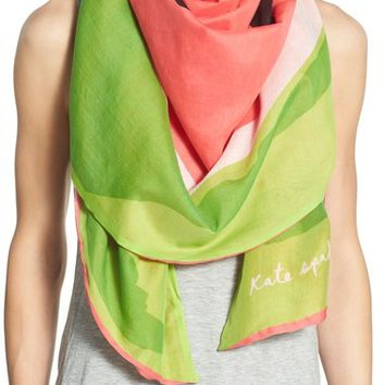 kate spade new york 'watermelon' cover-up scarf | Nordstrom
