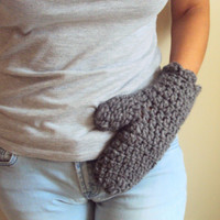 SALE! Chunky Mittens Winter Gloves Wool Blended Gift for Him/Her Christmas Clearance Sale!