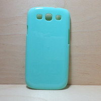 Hard Plastic Case for Samsung Galaxy S3 - Mint Green