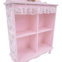 Lace mini furniture / shelf Pink - ONLINE SHOP - SWIMMER