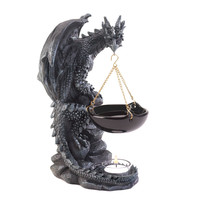 Chiseled Dragon Oil Warmer