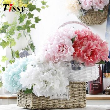 Artificial Peony Lovely Silk Flowers Wedding Party Decoration