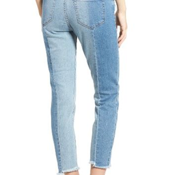 BP. MR Straight Colorblock Jeans | Nordstrom