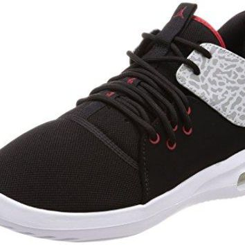 Jordan Nike Men's Air First Class Black/Gym Red White Casual Shoe 9.5 Men US