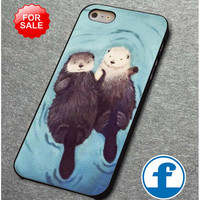 Otters Holding Hands (2)  for iphone, ipod, samsung galaxy, HTC and Nexus PHONE CASE