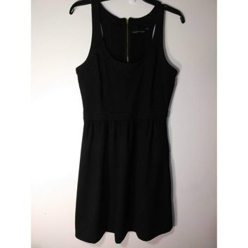 Cynthia Rowley Black Scoop Neck Sleeveless Little Black Dress NWOT Size Medium