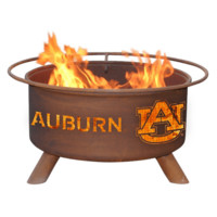 Auburn Steel Fire Pit by Patina Products