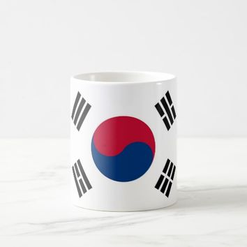 Mug with Flag of South Korea