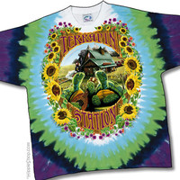 Grateful Dead - Terrapin Station Tie Dye T Shirt on Sale for $25.95 at HippieShop.com
