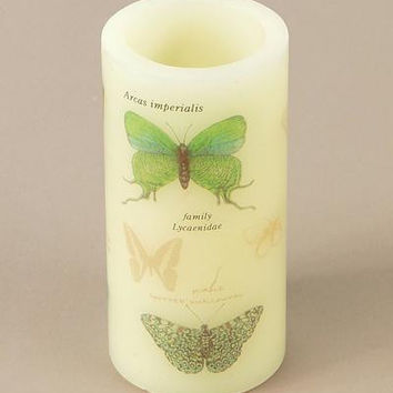 6 Flameless Candles - Butterfly
