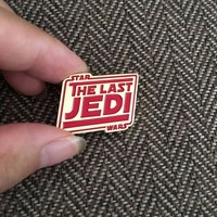 The Last Jedi Lapel Pin Badge